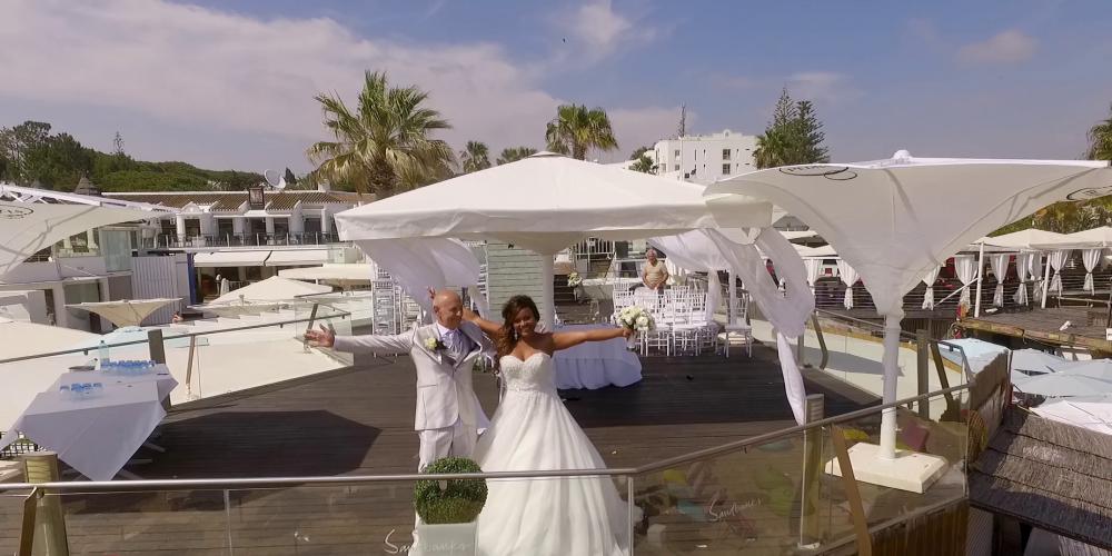 Algarve Wedding Drone Video