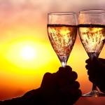 Champagne sunset sailing cruise